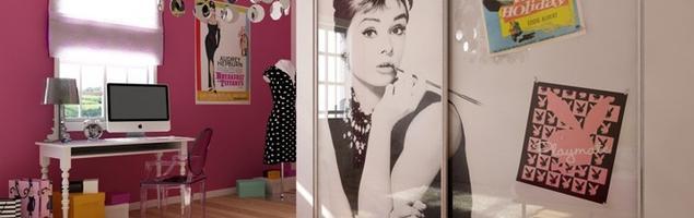 Designerskie szafy dla nastolatków. Aranżacja pokoju dziecięcego