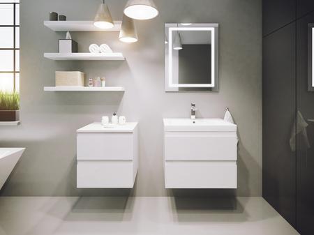 Nowoczesne meble łazienkowe COMO DEFRA