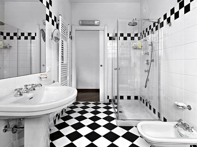 Łazienka vintage. Aranżacje łazienek