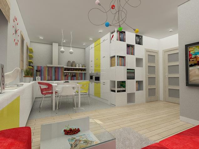 Zobacz galerię zdjęć KUCHNIA OTWARTA  Stronywnętrza pl  strona 4 -> Kuchnia Pol Otwarta